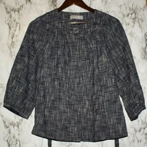 Liz Claiborne Belted Jacket Career Wear Medium